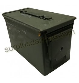 MILCOT Military Ammunition Box Caliber .50 Used