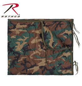 ROTHCO Couverture Envelope Fermeture Poncho Liner Woodland