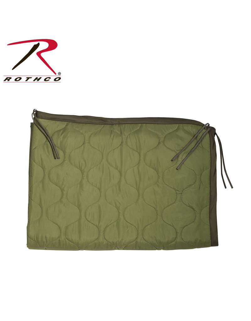ROTHCO Couverture Intérieur Poncho Liner Olive