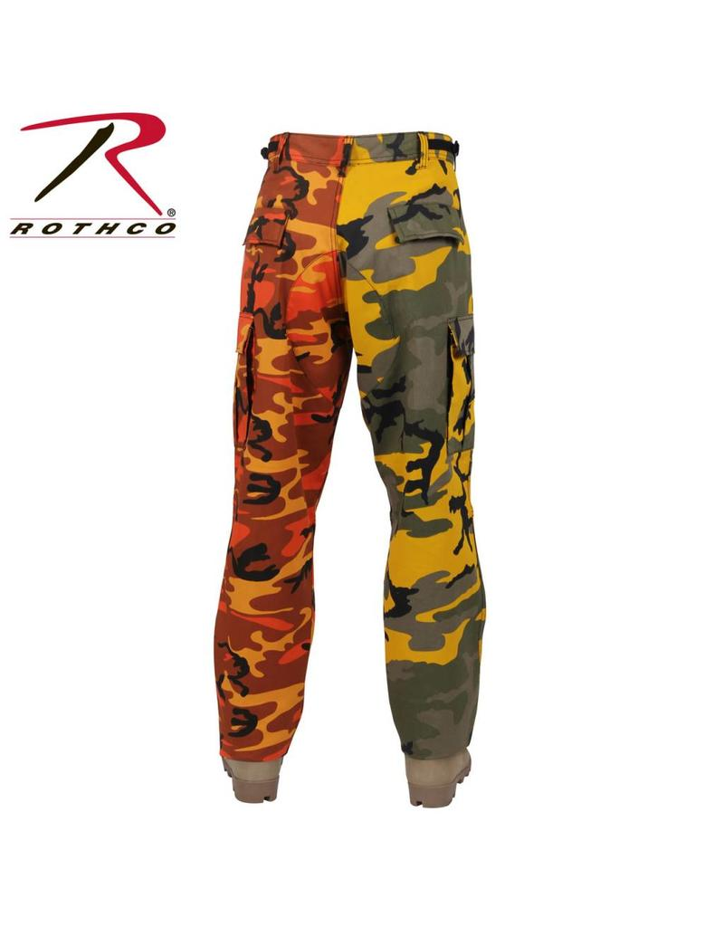 ROTHCO Pantalon Rothco 2 Couleurs Camo Orange /Jaune