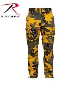 ROTHCO Pantalon Rothco Camo Jaune
