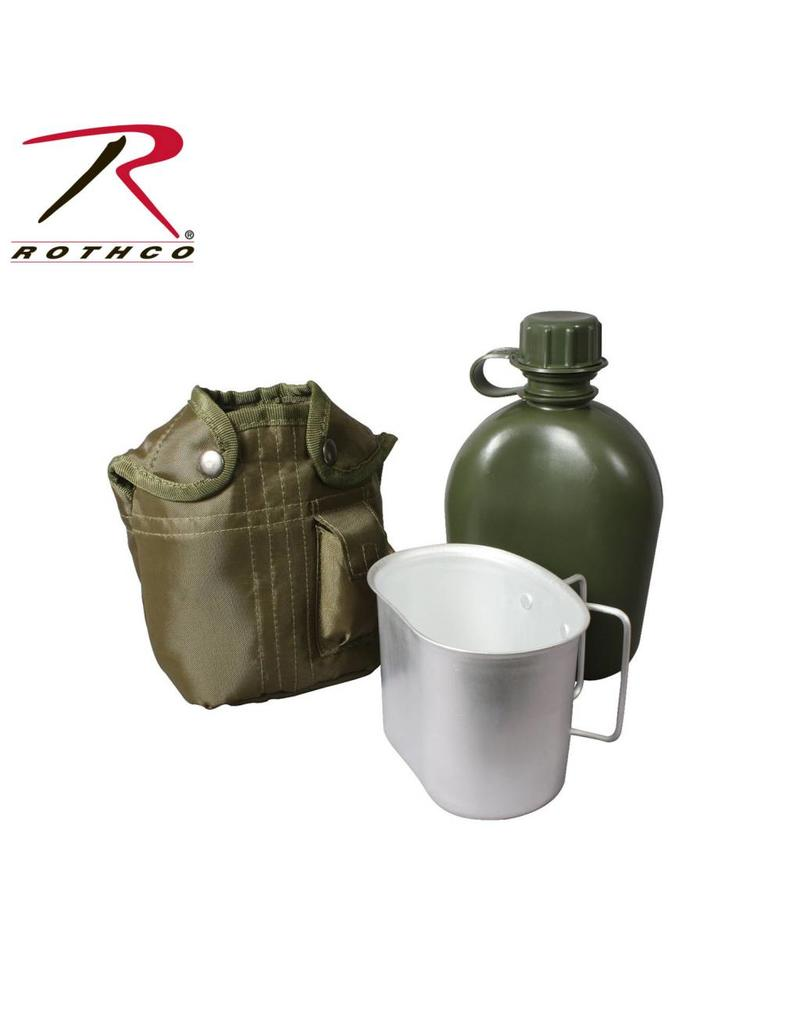 ROTHCO Gourde Style Militaire 3 morceaux Rothco