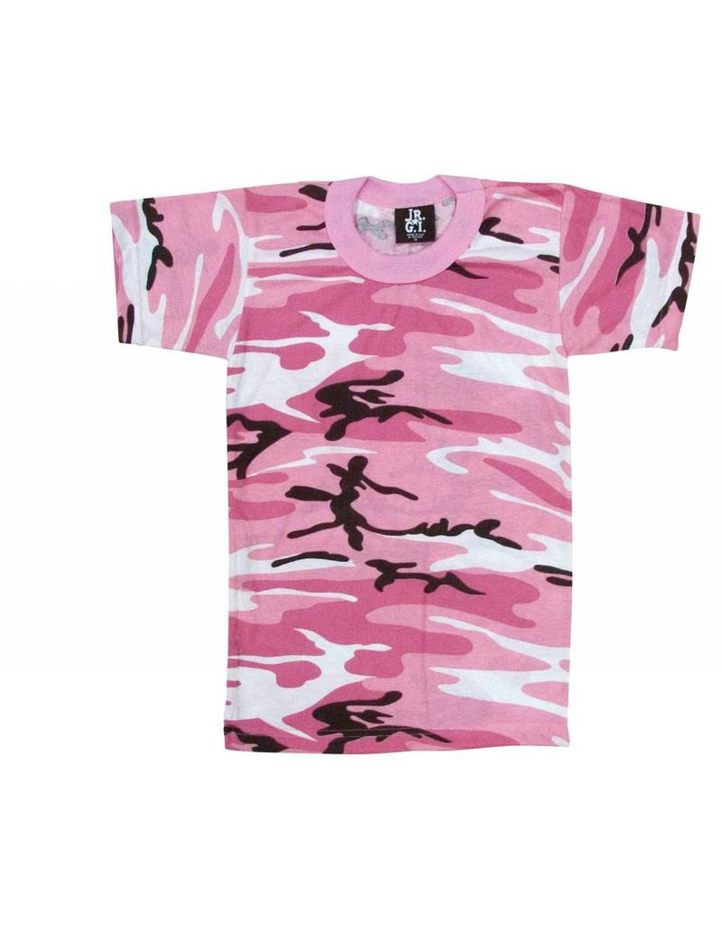 20f9cec6 Rothco Kids Pink Camo T-Shirt - Army Supply Store Military