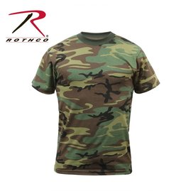 ROTHCO T-Shirt Enfant Camouflage Woodland