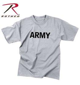 TRU-SPEC T-Shirt Enfant Style Militaire Army Gris