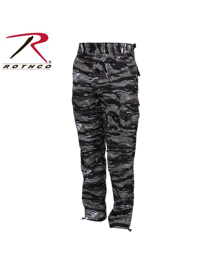 ROTHCO Pantalon Style Militaire Tigré Urbain