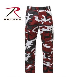 ROTHCO Pantalon Style Militaire Camo Rouge