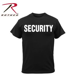 ROTHCO Chandail T-Shirt Sécurité (Security)