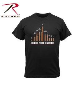 ROTHCO Rothco Vintage 'Choose Your Caliber' T-Shirt