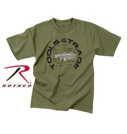 ROTHCO Chandail T-Shirt Vintage Tools Of Trade