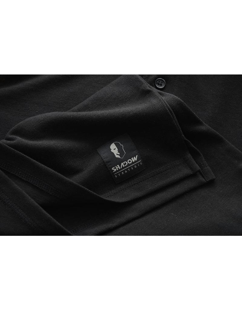 SHADOW ELITE Chandail Polo Shadow Tactical Noir