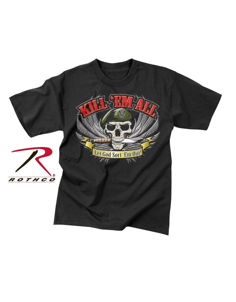 ROTHCO Chandail T-Shirt Rothco Kill 'Em All