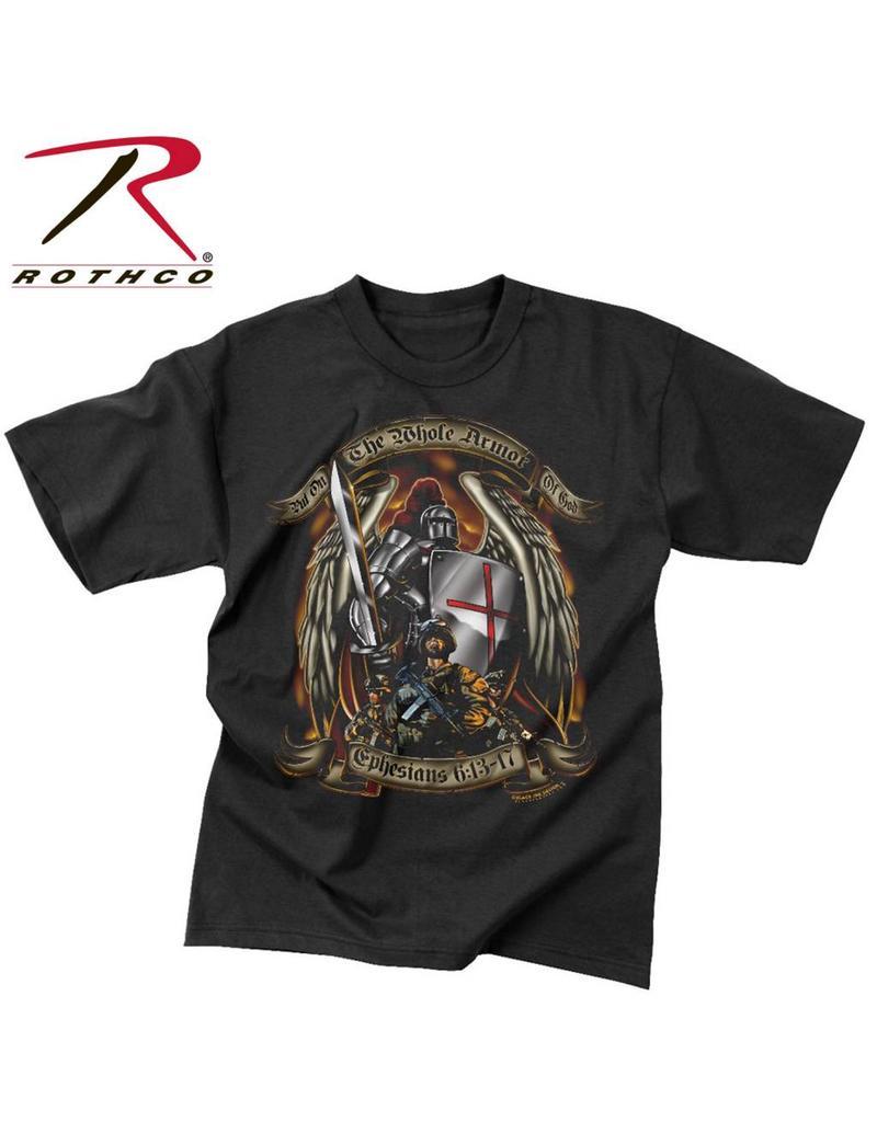 ROTHCO Chandail T-Shirt Rothco Armor Of God