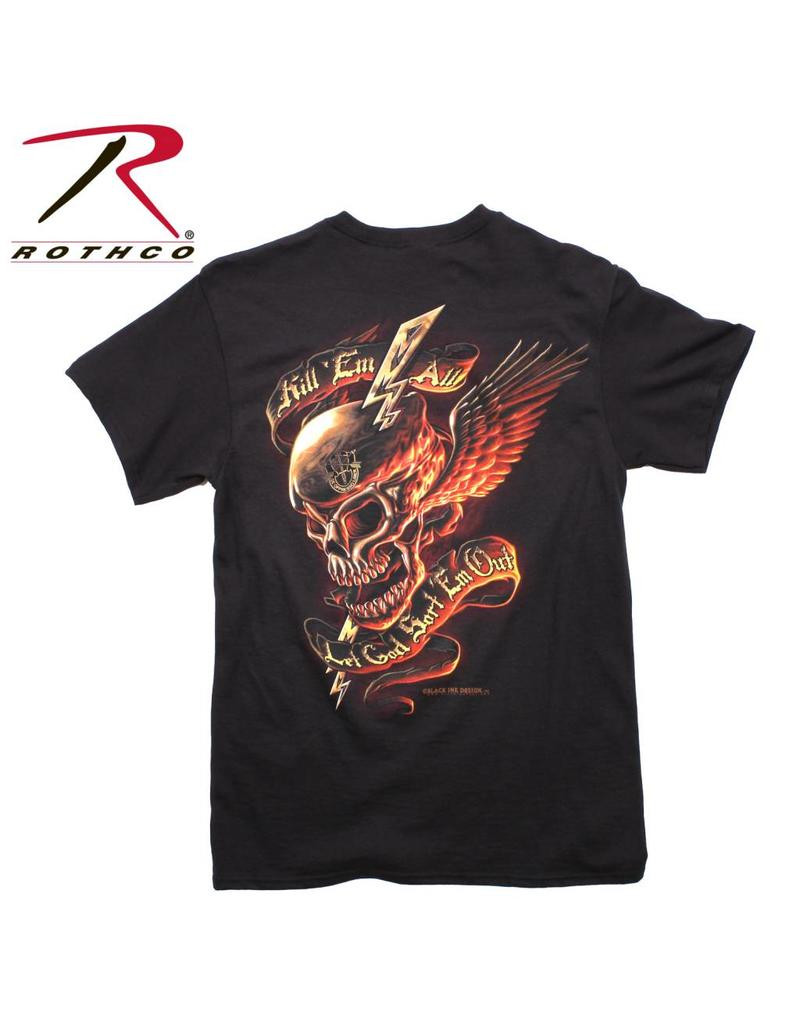 ROTHCO T-Shirt Rothco Kill Em All Back