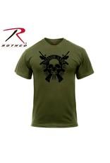 ROTHCO Chandail T-Shirt Rothco Molon Labe Skull
