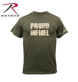 ROTHCO Chandail T-Shirt Rothco Infidel