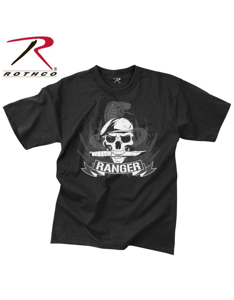 ROTHCO T-Shirt Rothco Ranger Skull