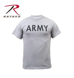 ROTHCO T-Shirt Rothco Army Grey