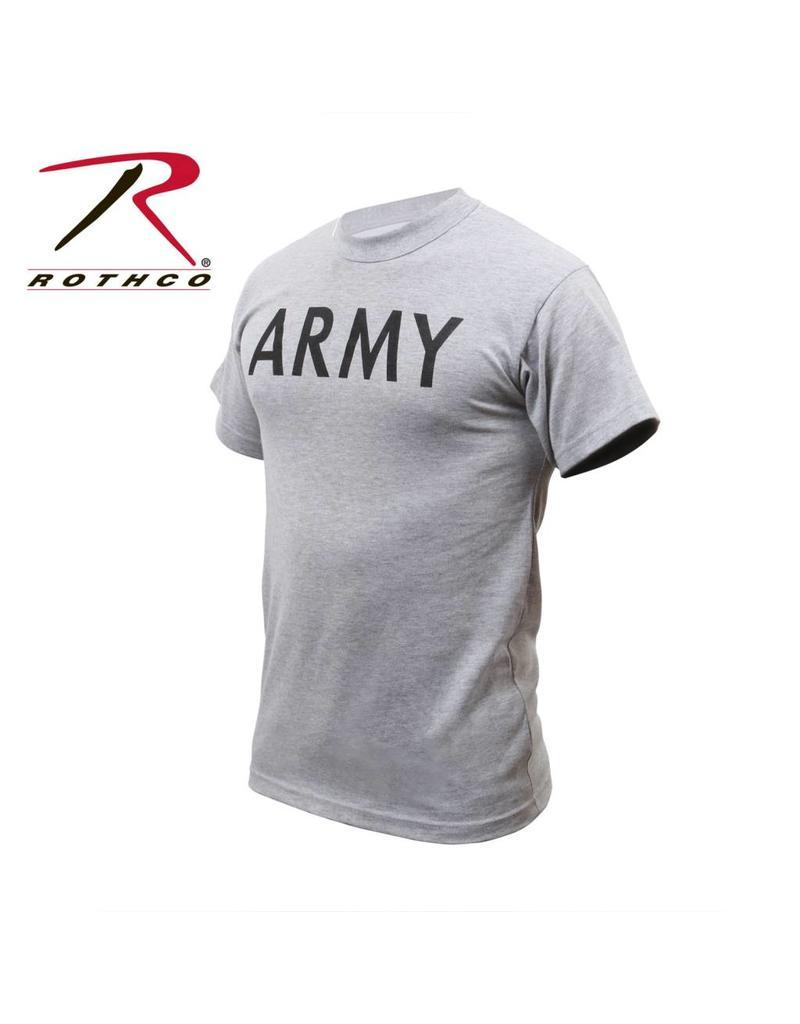 ROTHCO Chandail T-Shirt Rothco Army Gris
