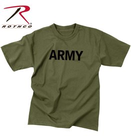 ROTHCO Rothco Olive Drab Military Physical Training T-Shirt