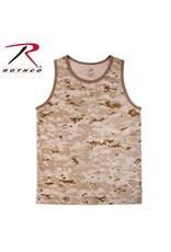 ROTHCO Rothco Camo Tank Top Desert
