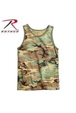 ROTHCO Rothco Camo Tank Top Woodland