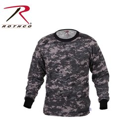 ROTHCO Rothco Long Sleeve Digital Camo T-Shirt Subdued