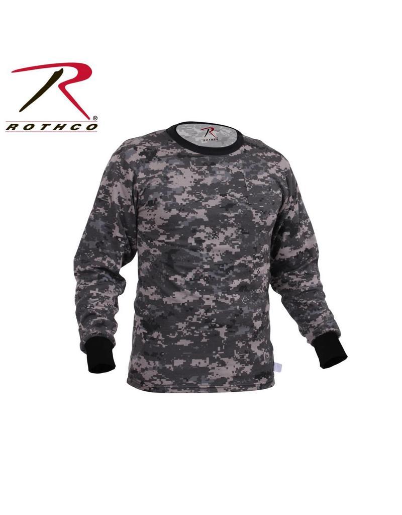 ROTHCO Rothco Long Sleeve Digital Camo T-Shirt Subdued