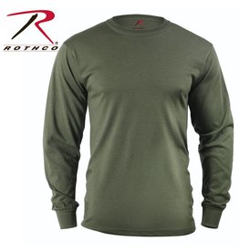 ROTHCO Rothco Long Sleeve Solid T-Shirt Olive