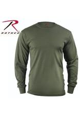 ROTHCO Rothco Long Sleeve Solid T-Shirt Olive