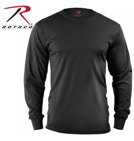 ROTHCO Rothco Long Sleeve Solid T-Shirt Black