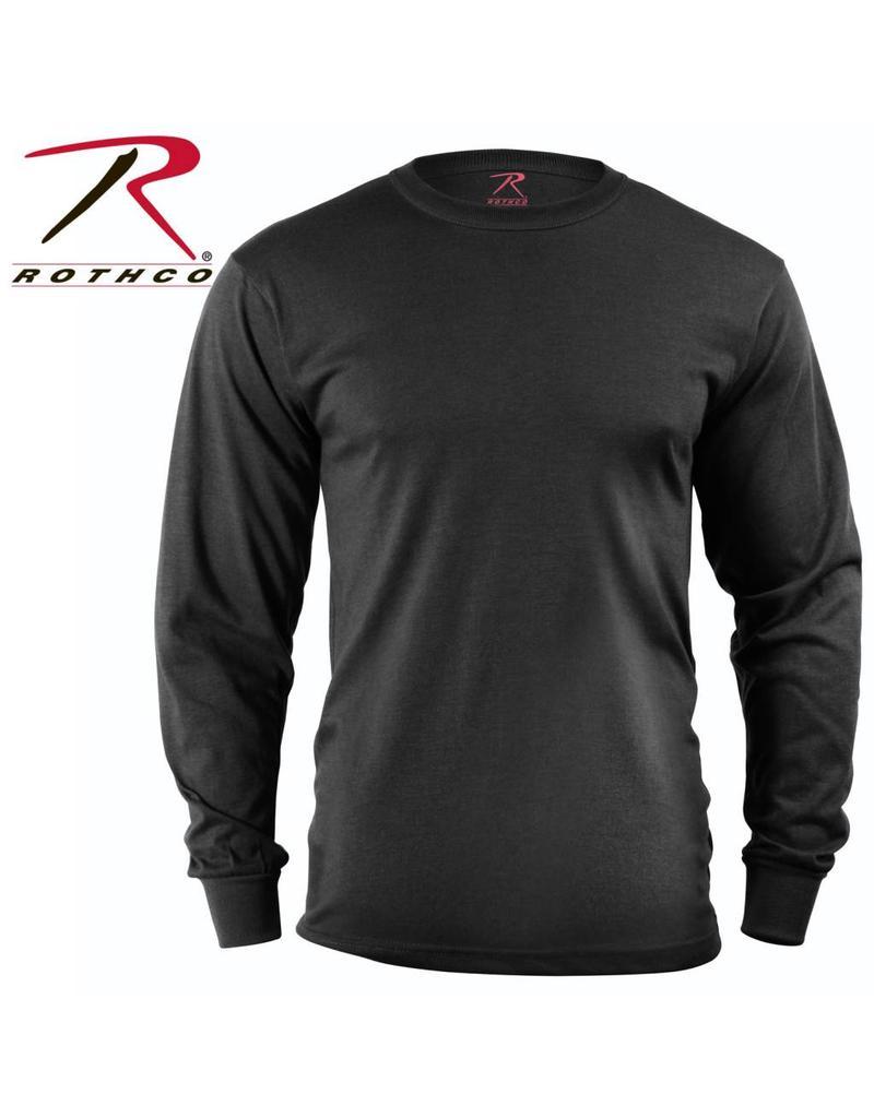 ROTHCO Rothco Long Sleeve Solid T-Shirt Black
