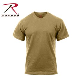 ROTHCO Rothco Moisture Wicking T-Shirts Coyote
