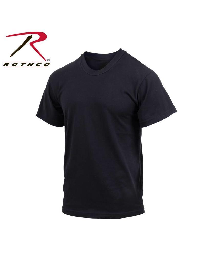 ROTHCO Rothco Moisture Wicking T-Shirts Black