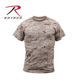 ROTHCO Chandail T-Shirt Rothco Digital Desert