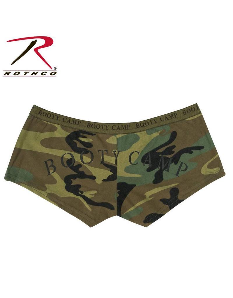 """ROTHCO Rothco Woodland Camo """"Booty Camp""""Shorts"""
