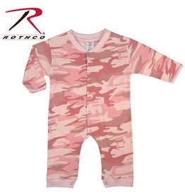 ROTHCO Rothco Ensemble Une piece Bébé Camouflage Rose