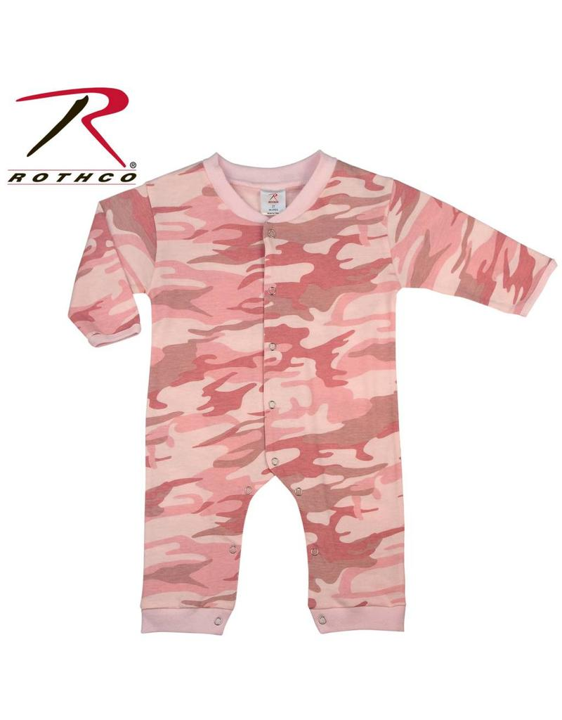 188c7245119f Rothco One Piece Baby Camouflage Pink - Army Supply Store Military