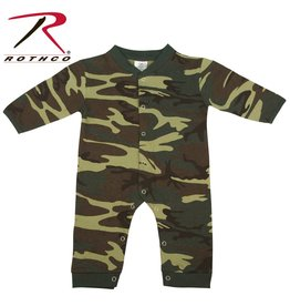 ROTHCO Rothco Ensemble Une piece Bébé Camouflage Woodland