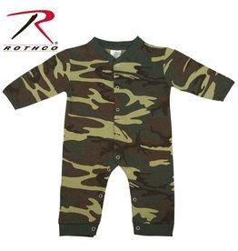 ROTHCO Rothco One Piece Baby Camouflage Woodland Set
