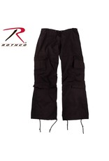 ROTHCO Rothco Women's Vintage Paratrooper Fatigue Pants Black