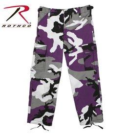 ROTHCO Pantalon Enfant Camouflage Mauve