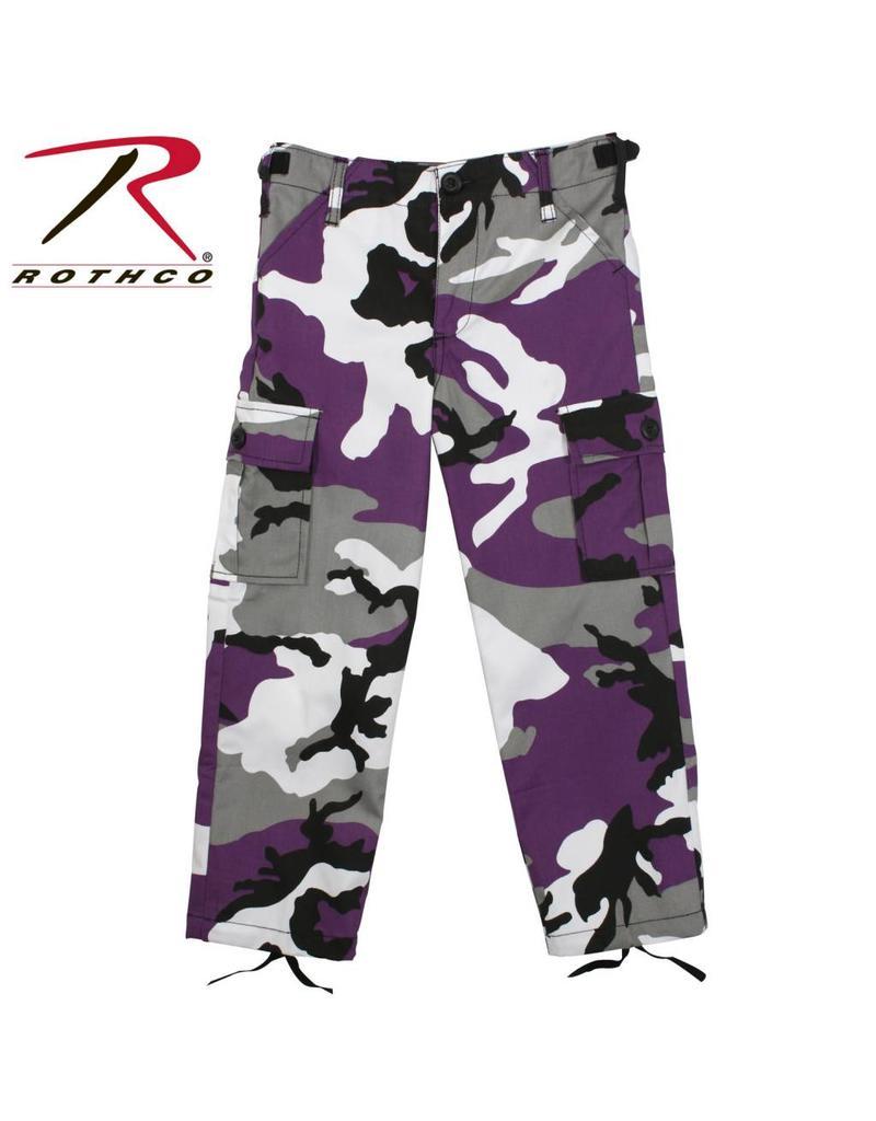 ROTHCO Rothco Kid's BDU Pants Camo Mauve