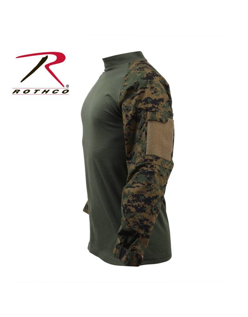 ROTHCO Rothco Military Combat Shirt Marpat