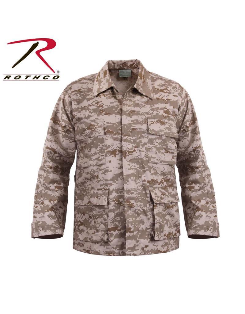 ROTHCO Chemise de Combat BDU Desert Rothco
