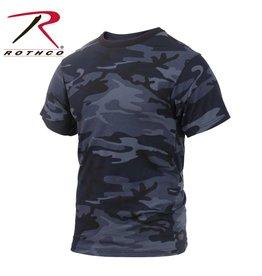 ROTHCO T-shirt Chandail Camo De Nuit Rothco