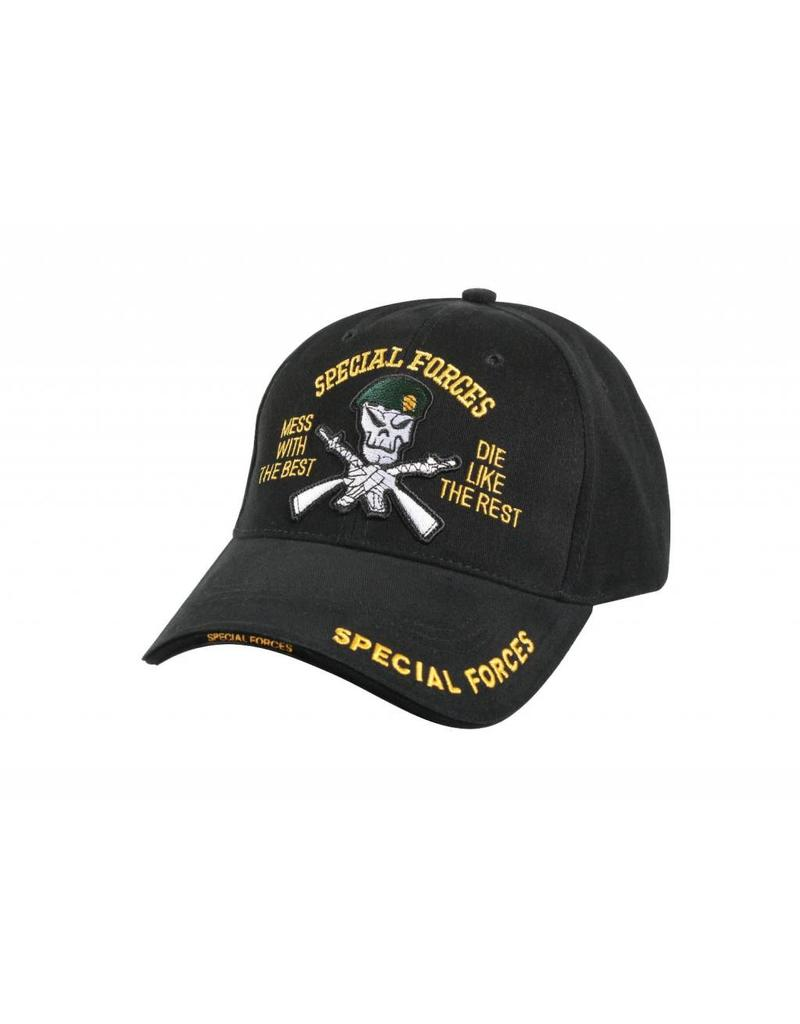 5f7e81162ef Rothco Deluxe Low Profile Special Forces Insignia Cap - Army Supply ...