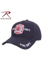 ROTHCO Rothco Deluxe Fire Department Low Profile Cap