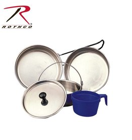 ROTHCO Rothco 5 Piece Stainless Steel Mess Kit