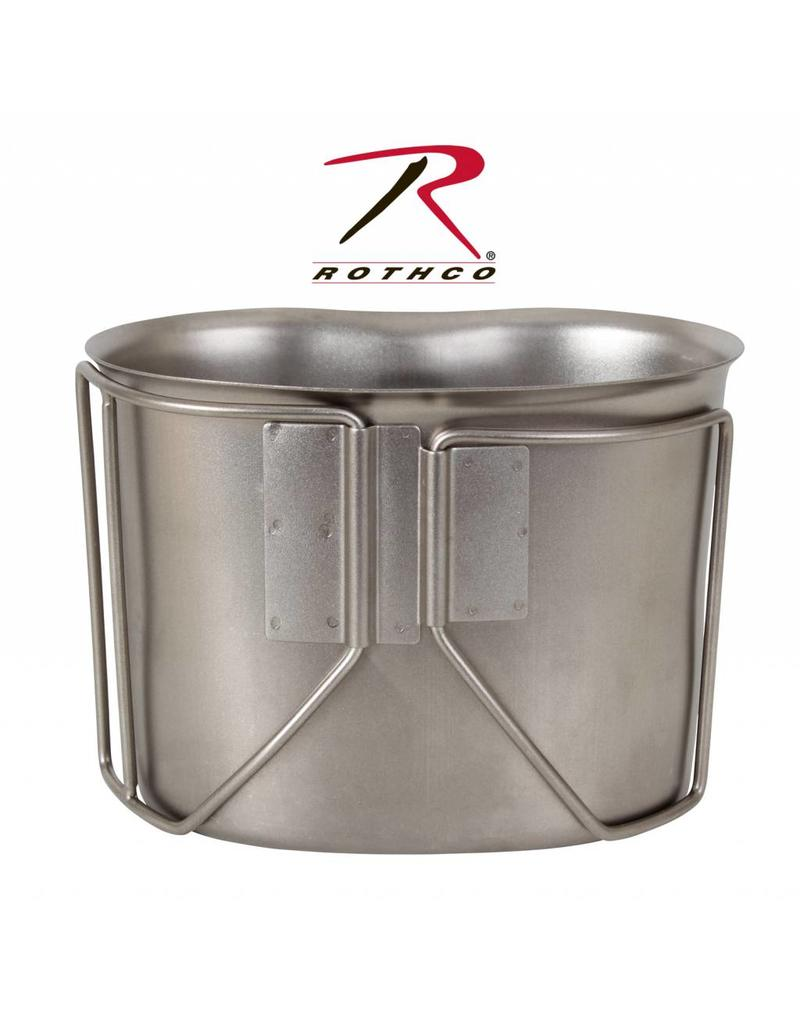ROTHCO Rothco GI Style Stainless Steel Canteen Cup